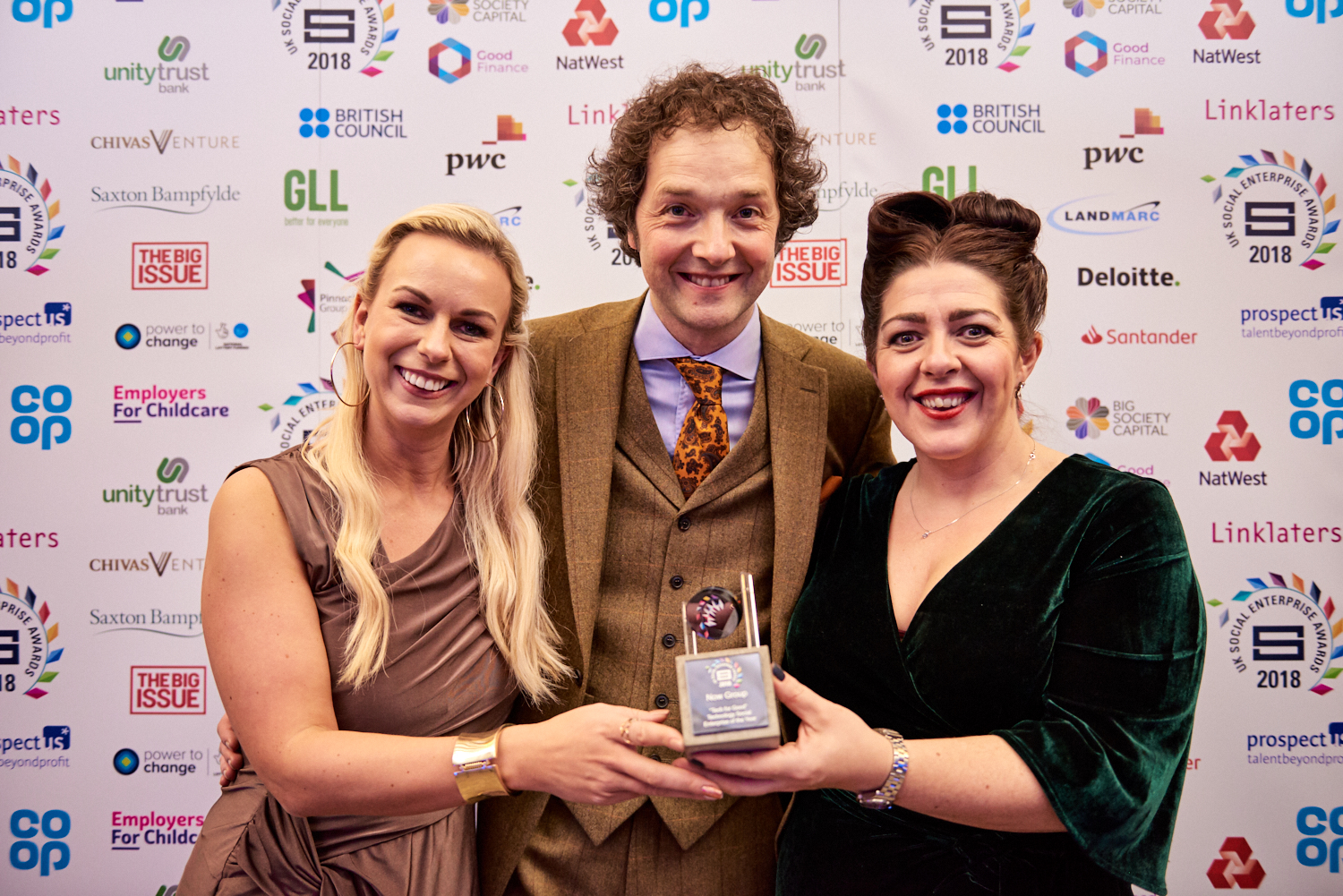 JAM Card wins national 'Tech for Good' award