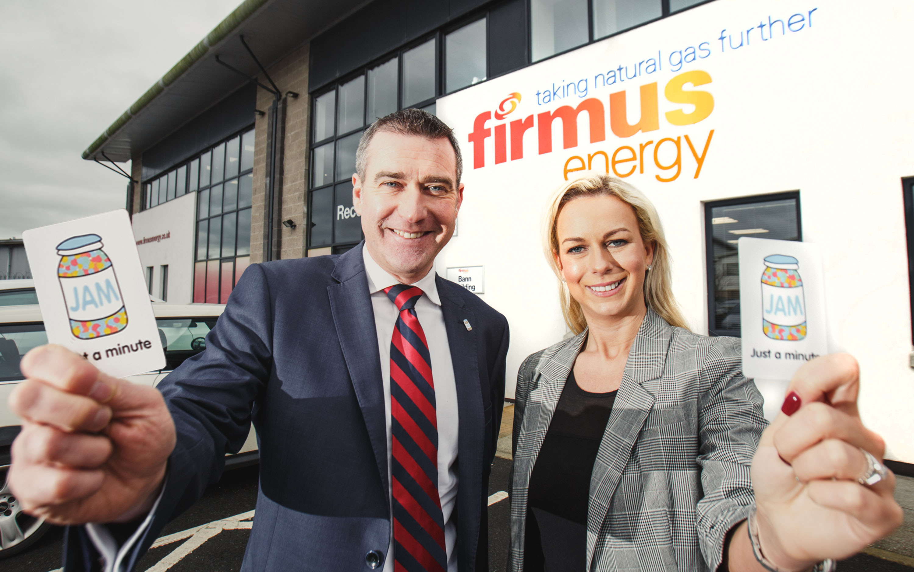 firmus energy become a JAM Card Friendly Organisation