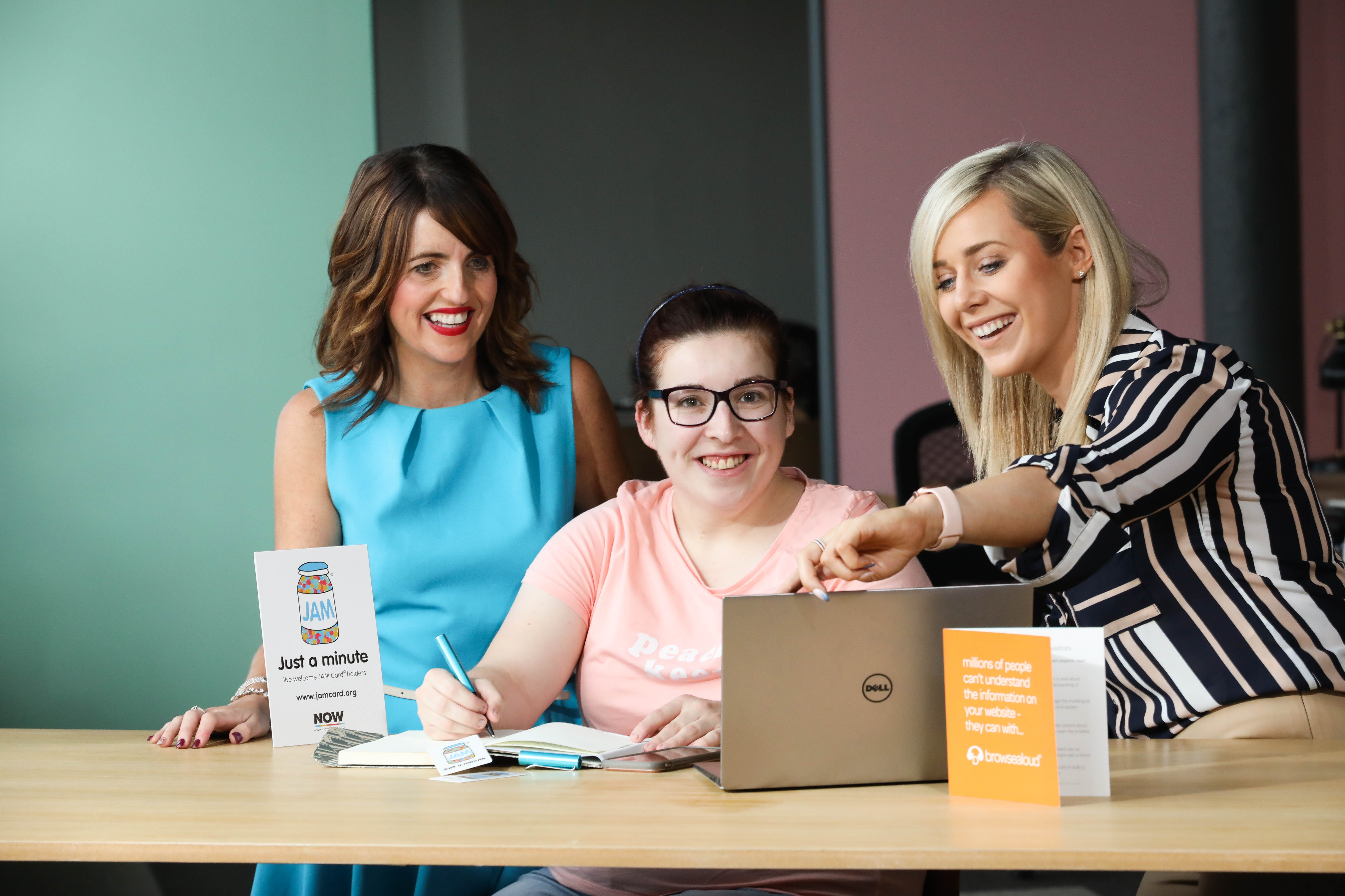 Texthelp and the NOW Group - working together to promote inclusion in Northern Ireland
