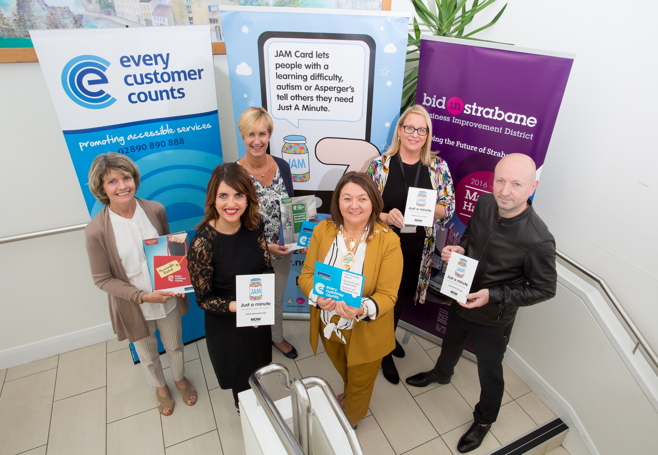 Strabane aiming to be first town in UK and Ireland to become JAM Card Friendly