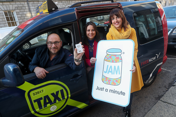 FREE NOW taxis become 'JAM Card' friendly to help passengers with learning and communication difficulties