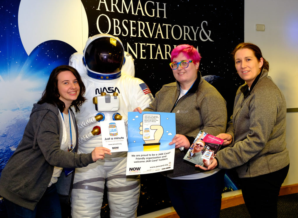 Armagh Planetarium is shooting for the stars with JAM Card
