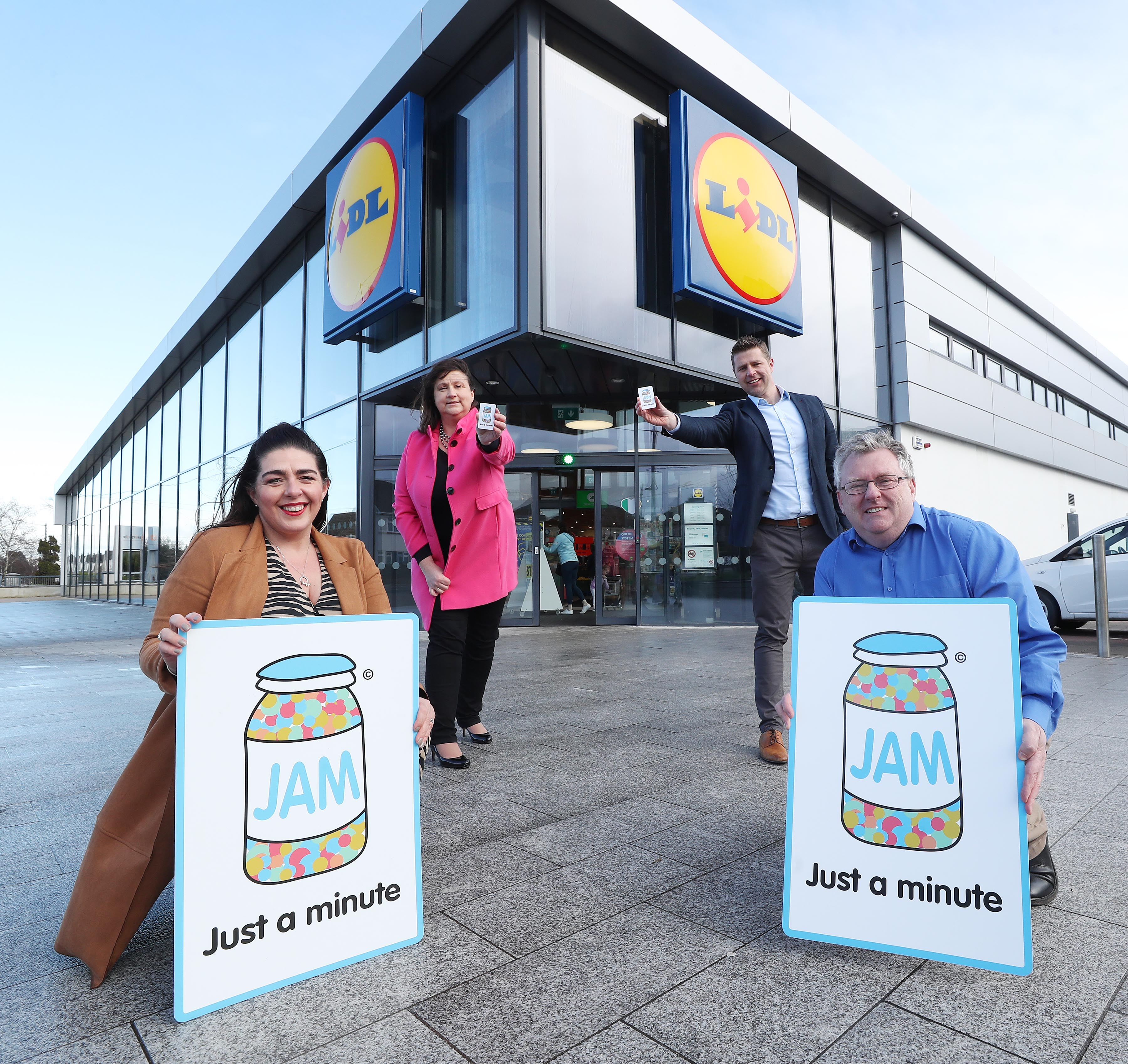 Lidl Ireland Further Demonstrates Commitment to Vulnerable Customers by Being First Irish Retailer To Become JAM Card Friendly