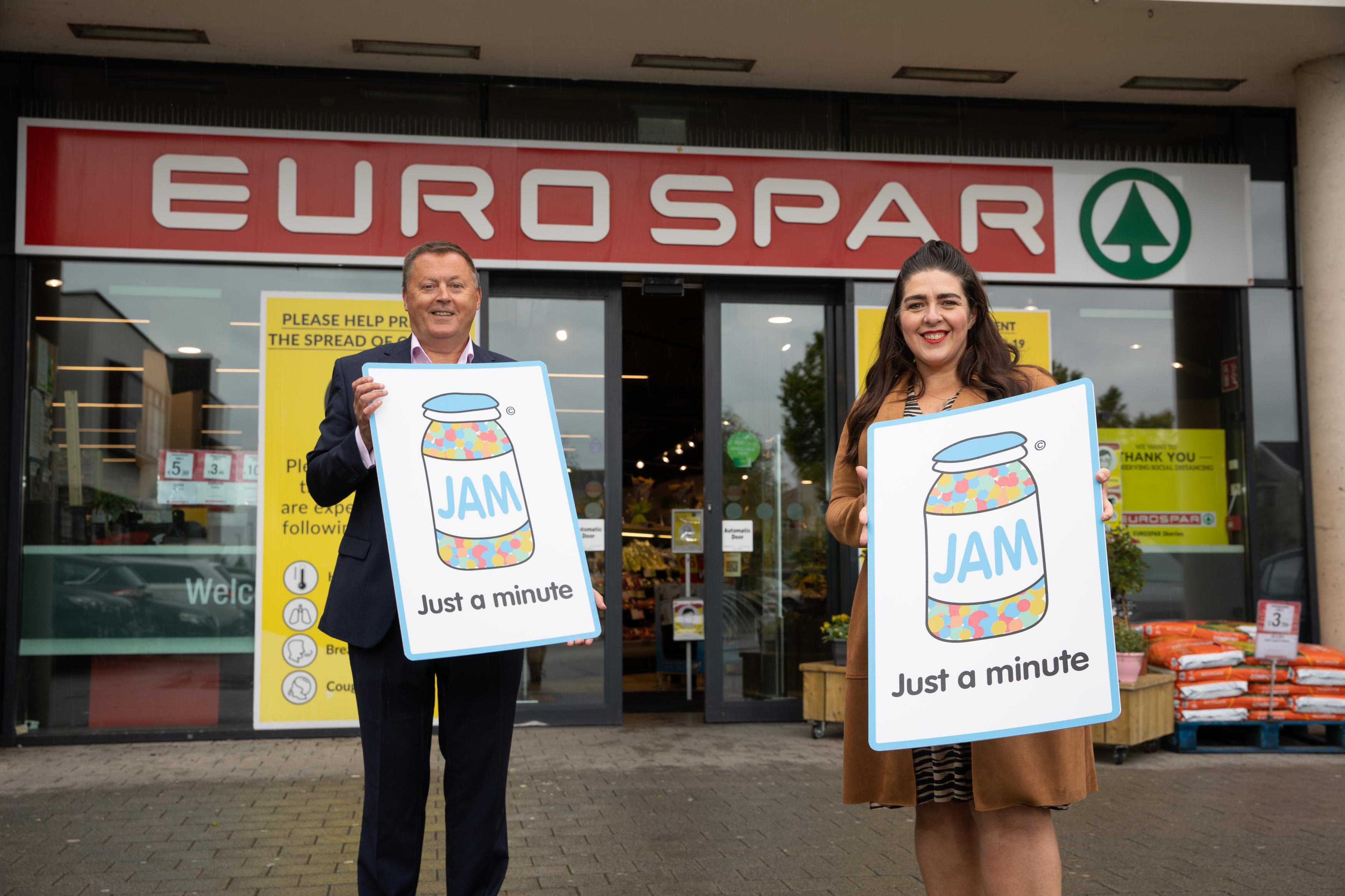 SPAR and EUROSPAR introduce JAM Card initiative to nationwide retail estate in Ireland