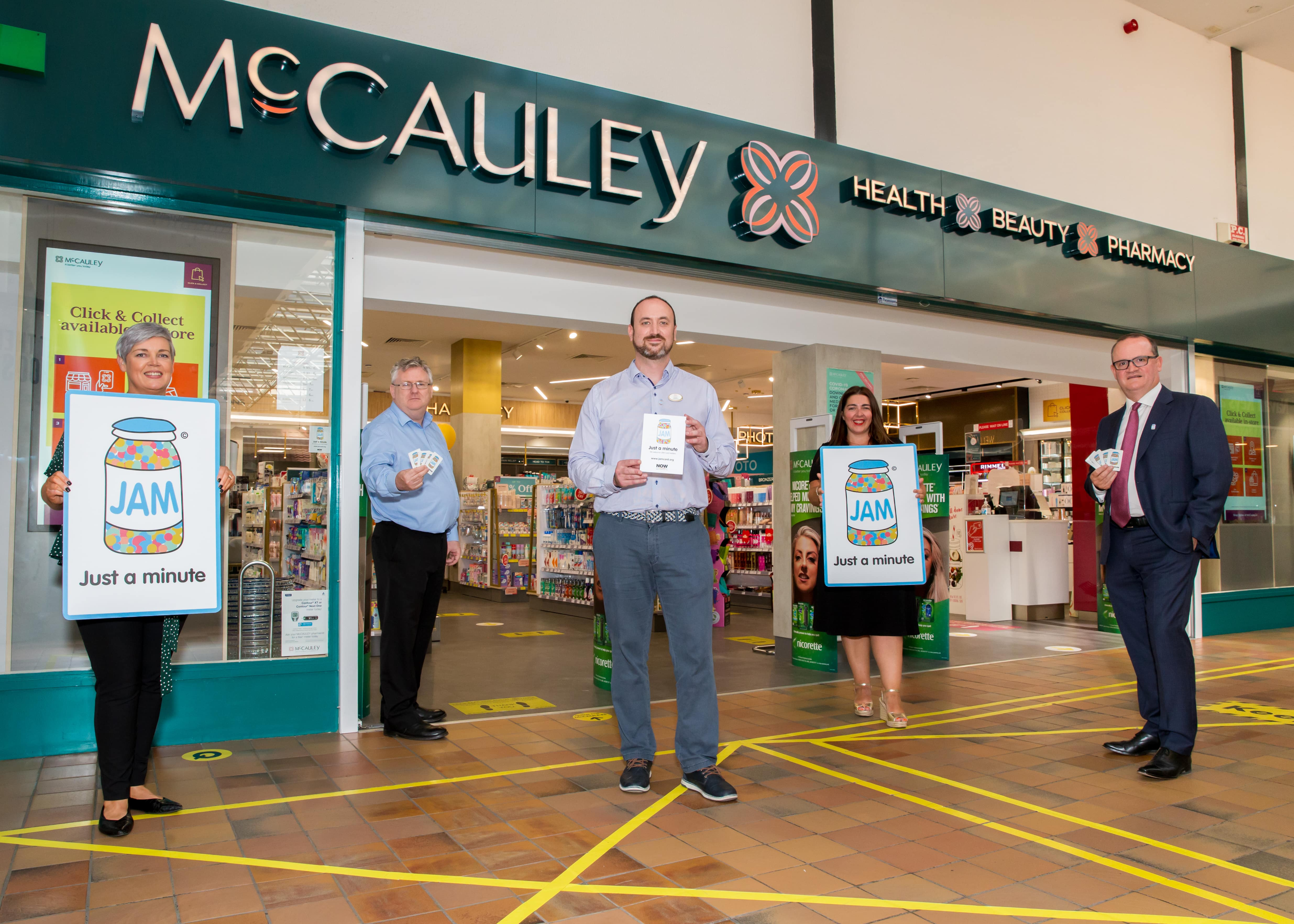 McCauley Retail Pharmacy achieve sector-first with JAM Card Train and Trainer programme