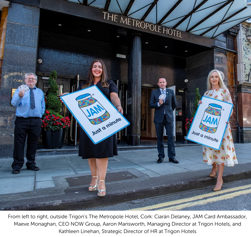 Trigon Hotel Group Makes JAM Card History in Ireland